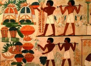 La piramide alimentare dell'Antico Egitto