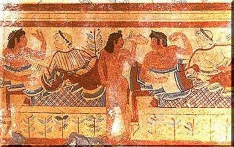 L'alimentazione del popolo etrusco